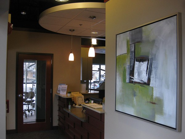 Green Dental Broomfield CO Front Office View
