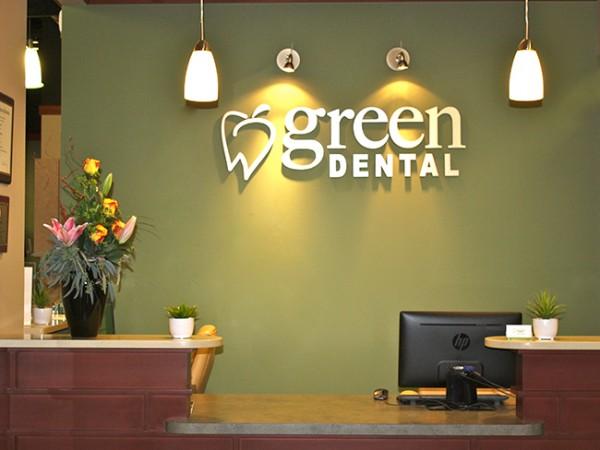 Green Dental Broomfield CO Reception Area